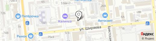 Русские медные трубы на карте Астрахани