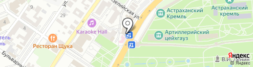 Финансист, КПК на карте Астрахани