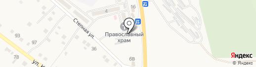 Автостоянка на карте Яксатово