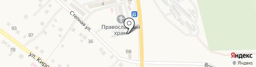 Шиномонтажная мастерская на карте Яксатово