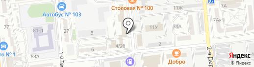 3 Отдельный батальон ДПС ГИБДД на карте Астрахани