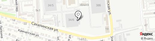 Лодки 30 на карте Астрахани