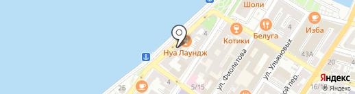 Компания по прокату велосипедов на карте Астрахани