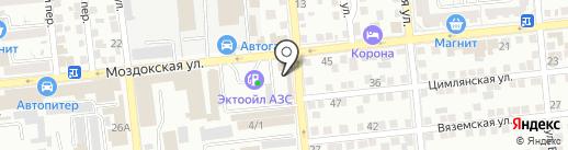 ГлобалСервисГрупп на карте Астрахани