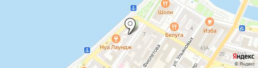 МуЛяЖ на карте Астрахани