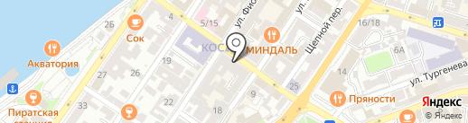 Harley на карте Астрахани