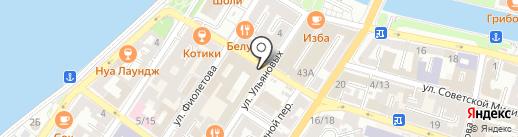 Астраханская на карте Астрахани