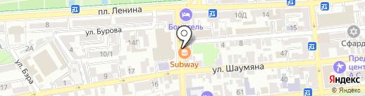 Aladdin на карте Астрахани