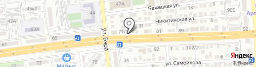 ЛАЙТ-Инвест на карте Астрахани
