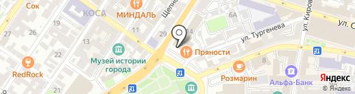 Сиэмай Альфа Оффшор на карте Астрахани