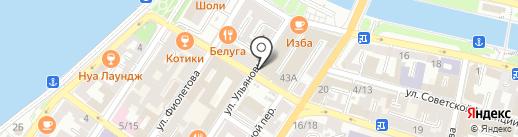 Bellagio на карте Астрахани