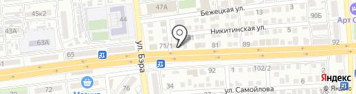 МИРРА на карте Астрахани