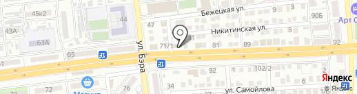 iStock на карте Астрахани