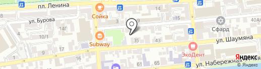 Гармония на карте Астрахани