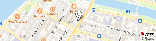 THE ONE на карте Астрахани