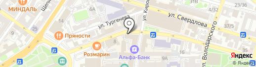 Студия Марии Солдатовой на карте Астрахани
