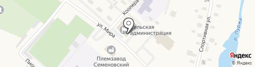 Церковная лавка от Храма Владимирской Иконы Божией Матери на карте Кузнецово