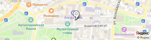 585 на карте Астрахани