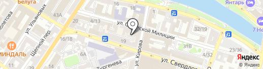 ПРИТЯЖЕНИЕ на карте Астрахани