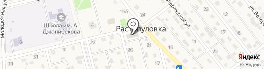 Растопуловская сельская библиотека на карте Растопуловки
