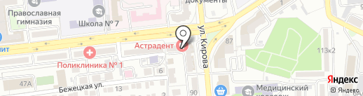 Квартирный вопрос на карте Астрахани