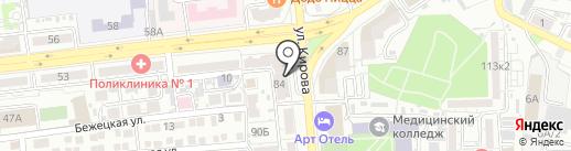 101 Тур на карте Астрахани