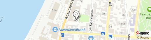 Джалал на карте Астрахани