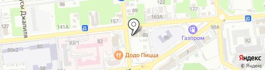 Юг-Строй-Риелт на карте Астрахани