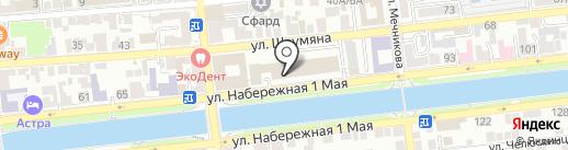 ГрандСтройСнаб на карте Астрахани
