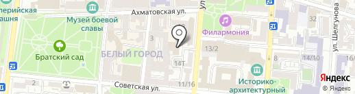 Консультативно-тренинговый центр Лилии Бессоновой на карте Астрахани