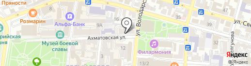 Шоколад Авеню на карте Астрахани