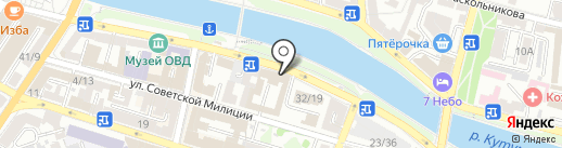 Астраханские домофонные системы на карте Астрахани