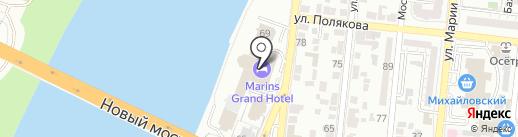 Сом Бун на карте Астрахани