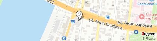 Тегеран на карте Астрахани