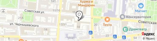 Избирательная комиссия Астраханской области на карте Астрахани