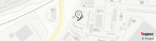 Аст Мебельеро на карте Астрахани