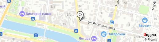 Оптово-розничный магазин на карте Астрахани