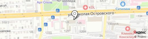 Репетитор Астрахани на карте Астрахани