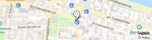 Иконная лавка на карте Астрахани