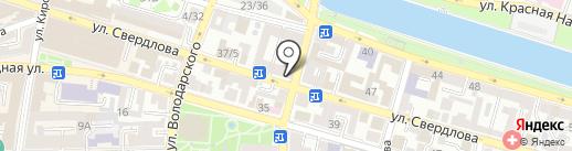 Секонд Лэнд на карте Астрахани