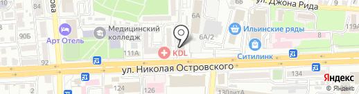 Комфорт на карте Астрахани