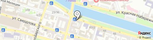 Магазин №1 на карте Астрахани