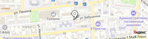 Услуга займа на карте Астрахани
