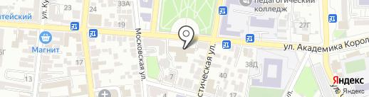 Центр сметной документации, МКУ на карте Астрахани
