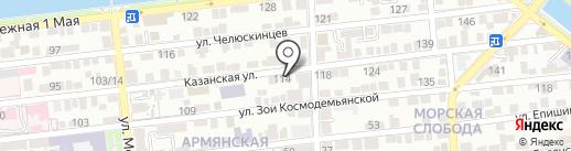 Строительно-монтажное управление № 17 на карте Астрахани