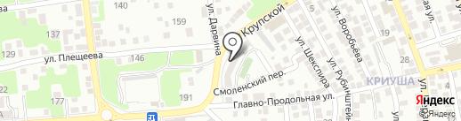 ХимСервис на карте Астрахани