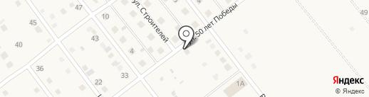 Продовольственный магазин на ул. 50 лет Победы на карте Растопуловки