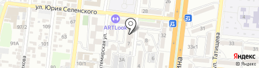 Карамельки-Кидс на карте Астрахани