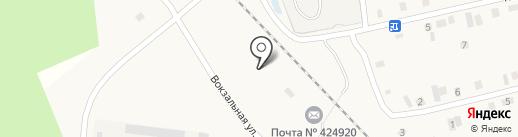 Почтовое отделение на карте Пембы