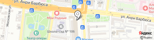 Архитектор Бизнеса на карте Астрахани